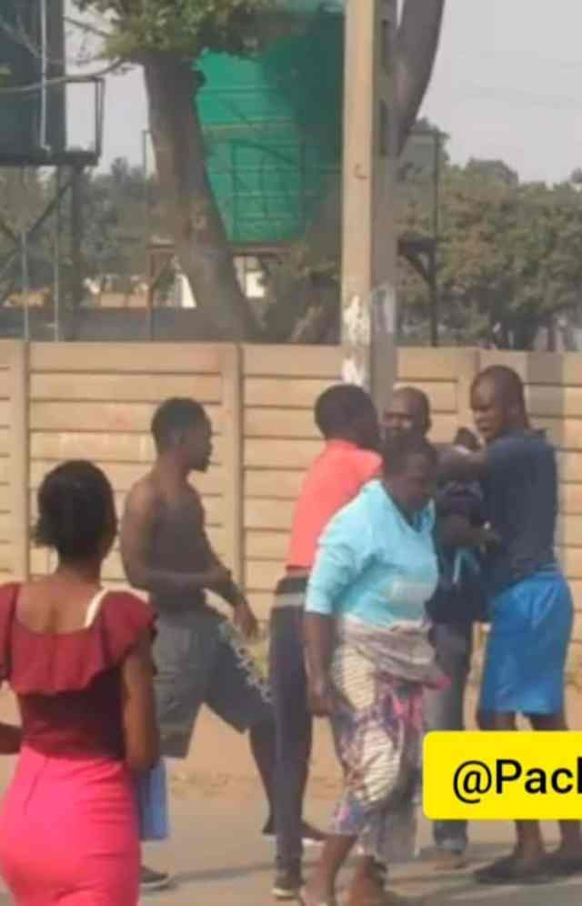 Yawa As Marriage Man Arrives Home And Finds Two Men Fighting Over His Wife [WATCH]
