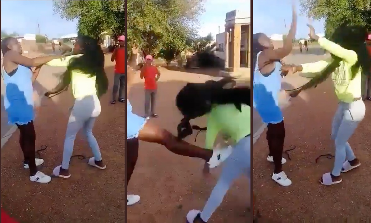 Ama 2k: Two Young Girls Fighting Over A Guy Was Posted On Social Media [WATCH]