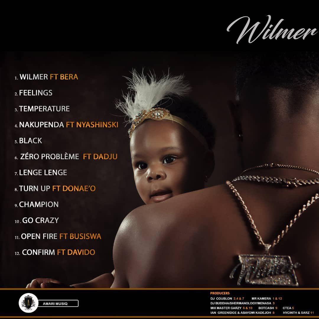 Patoranking – Wilmer (Full Album Download) - Zacknation com