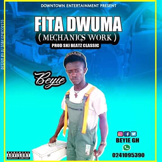 Kuame Beyie - Fita Dwuma (Mechanics Work) (Prod By Ski Beatz Classic)