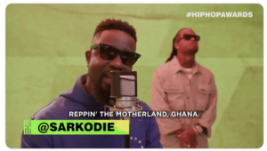 Download: Sarkodie – 2019 BET Hiphop Cypher (Freestyle)