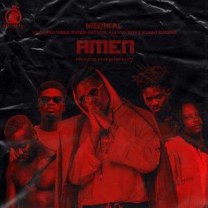 Medikal – Amen ft. Kuami Eugene, KelvynBoy, Darkovibes & Kwesi Arthur (Prod. Chensee Beatz)