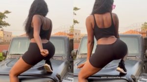 Wendy Shay Tw3erks to her new song 'Tuff Skin Girl' / WATCH VIDEO