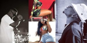 Shatta wale threatens to release the list of hook-up girls that sarkodie has been chopping / Check Out