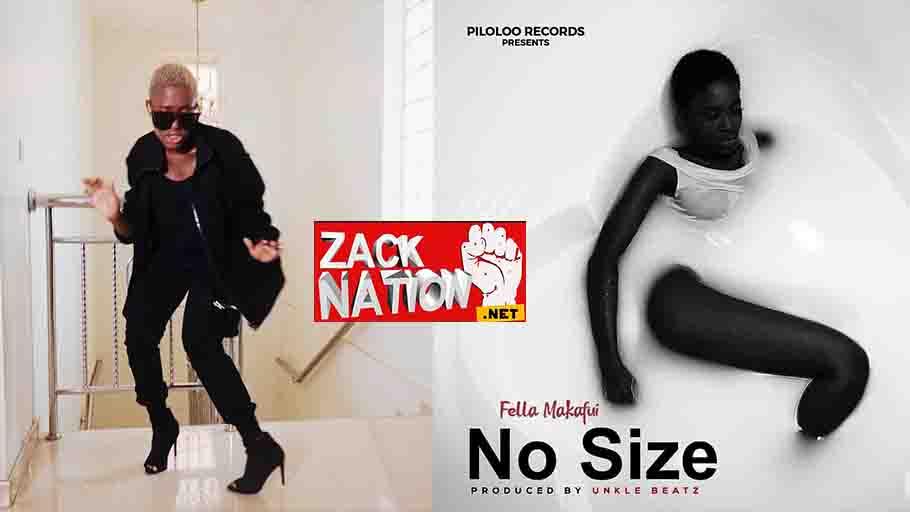 Fella Makafui - No Size (Official Video)