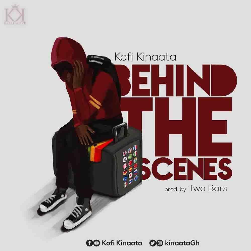 Kofi Kinaata Behind The Scenes