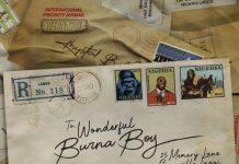 Burna Boy - Wonderful (Prod. By Telz)