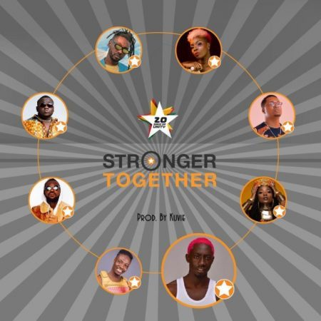 Efya x Bosom P-Yung x Kojo Cue x Fancy Gadam x CJ Biggerman x Pappy Kojo x Yaa Pono x Feli Nuna – Stronger Together