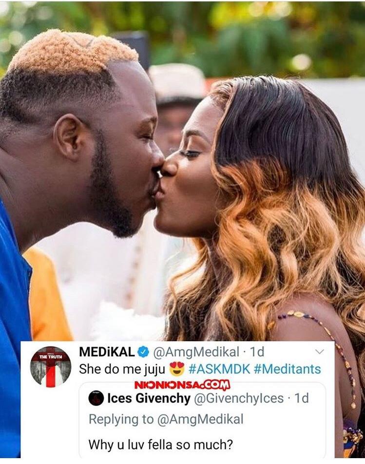 """Fella Makafui Took Me To 'Juju'"" – Medikal Shockingly Confess (Screenshot)"