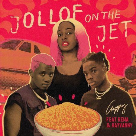 DJ Cuppy - Jollof On The Jet Ft Rema & Rayvanny