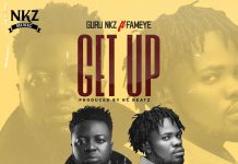 Guru - Get Up Ft. Fameye (Prod. By KC Beatz)
