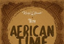 Krizbeatz - African Time Ft Teni