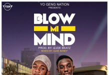 Nii Gh Ft Eugene Vibes - Blow My Mind (Mixed By Djae Banky)