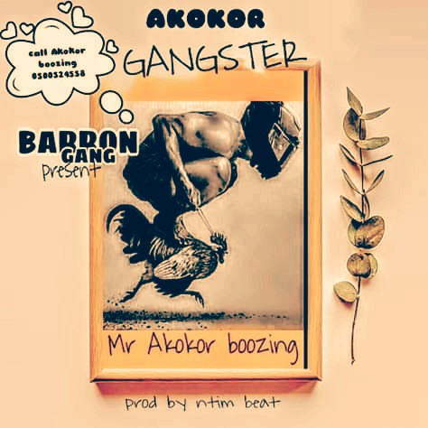 Mr. Akokor Boozing - Akokor Gangster (Prod. By Ntim Beatz)