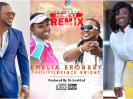 Official Video Emelia Brobbey Ft. Prince Bright - Fa Me Kor Remix