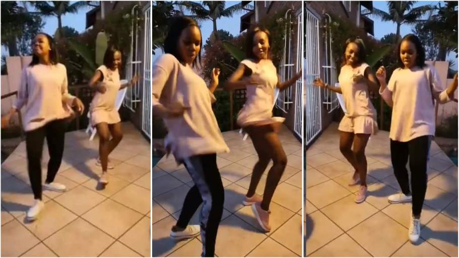 Amazing dance video of cute Mum & daughter breaks the internet as people can't tell them apart