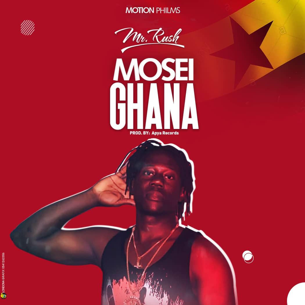 "Mr Rash set to release ""Mosei Ghana"" On September 20th"