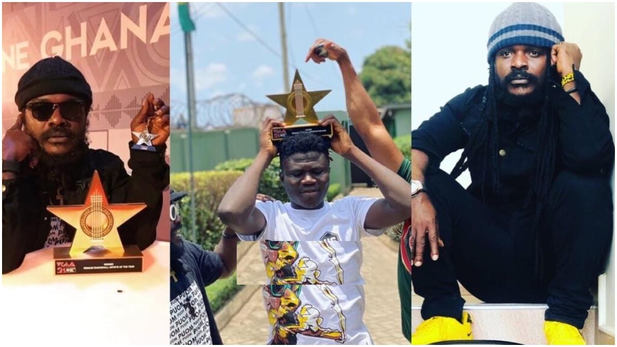 Ras Kuuku's VGMA Award has allegedly been stolen