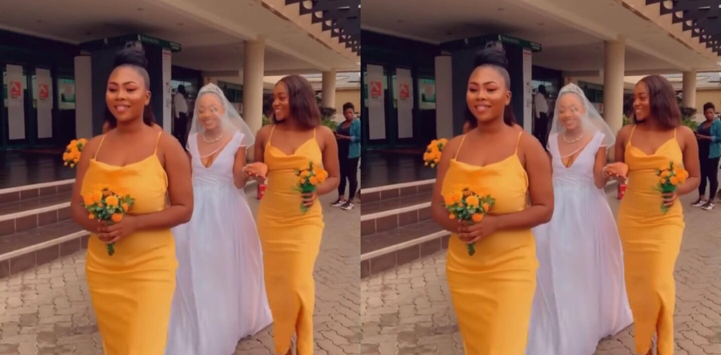 More Beautiful Videos From Akuapem Poloo's Wedding | Watch