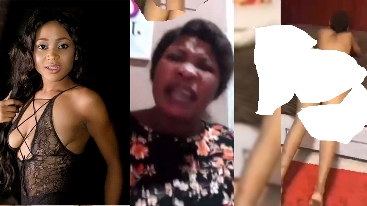 "Angry Woman Threatens To Release A Video Of A Man Ch0pping Akuapem Poloo's ""Trumu & Tw3"" -Watch Video"
