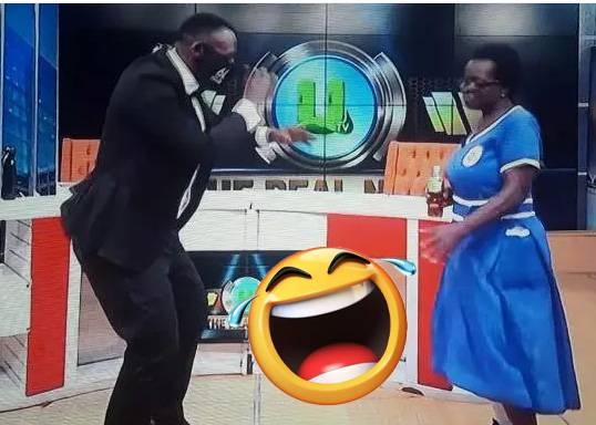 See As Akrobeto Do Funny Dance With The 57 Year Old Woman Who Is Trending