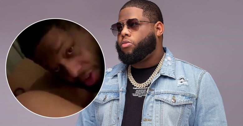 D Black Finally Reacts To His Trending Leaked Trending Video With A White Lady -Watch Video
