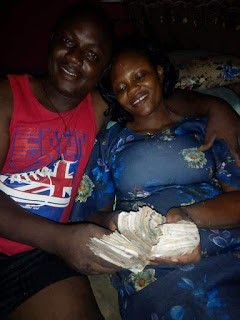 Please marry a good wife - Man advises as his wife pays their house rent from her Kolo savings -Watch