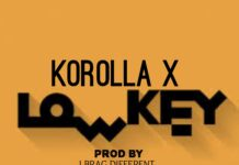 Korolla X - Low Key (Prod. By l Brag Different & Mixed By Fairytale)