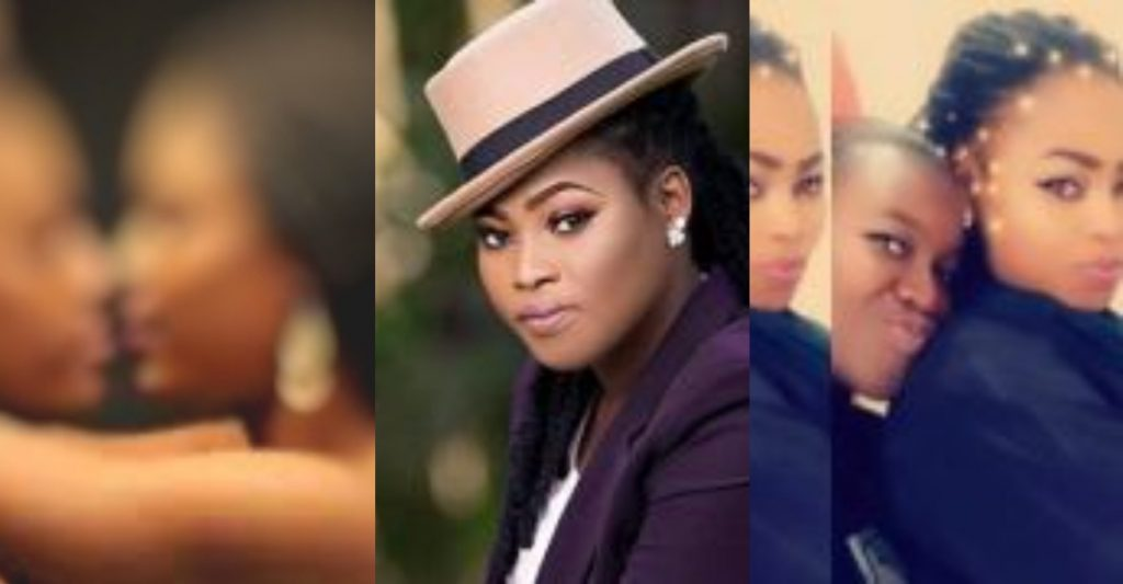 Shocking: Joyce Blessing's alleged l3sbian partner goes wild once again; Threatens to drop photos and videos -Watch
