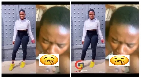 Here Is The ATOPA Video Of An SHS Graduate Fast Trending (Watch)