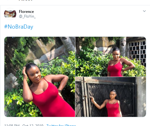 #NoBraDay : Women Showcase Their B00bs As They Go Bra-Free – 18+ (See Photos)