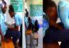 female SHS student