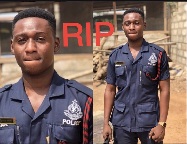 The Young Police Man Who Was Knocked And Killed By Car Details Drops; He Is Married With A Child
