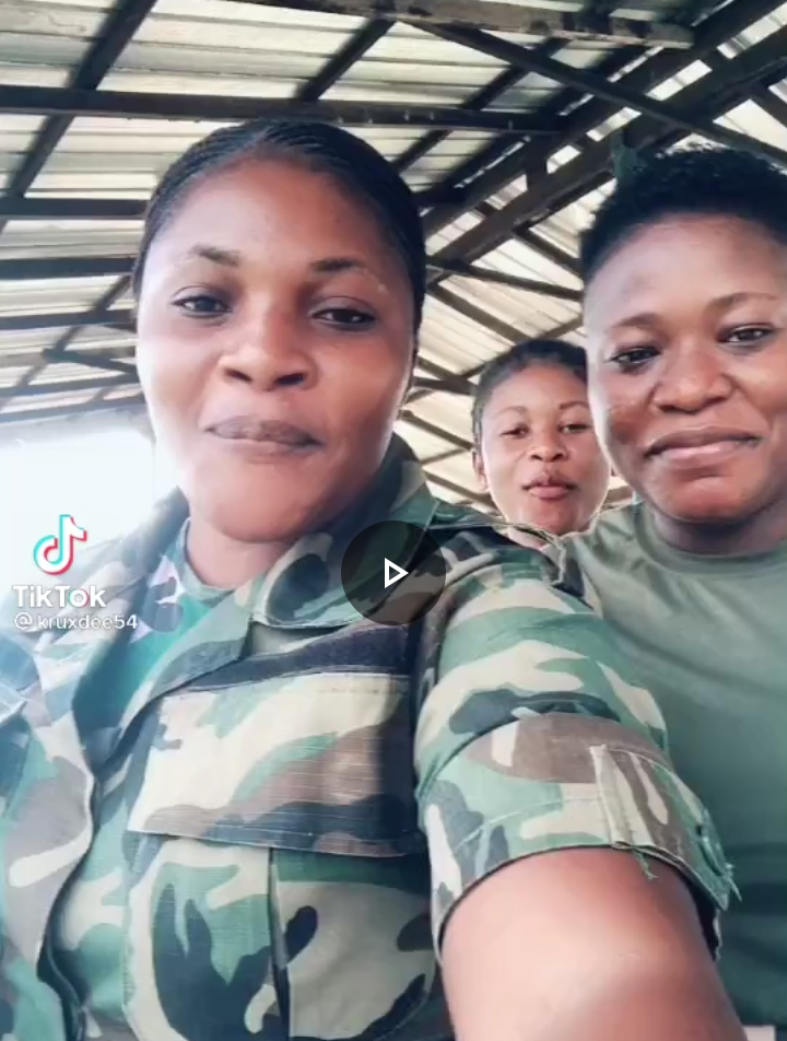 Three Military Air Ladies Caused Traffic On The Internet After They Posted This Video [WATCH]