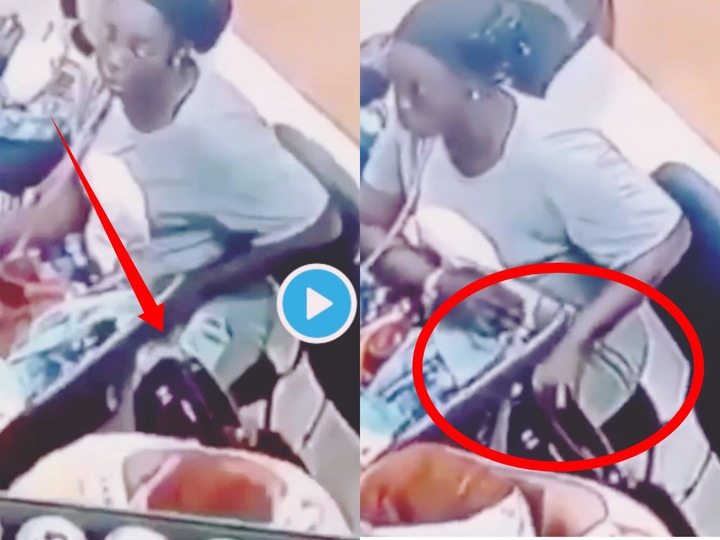See What this Woman Was Caught Doing On A Security Camera (+Video)