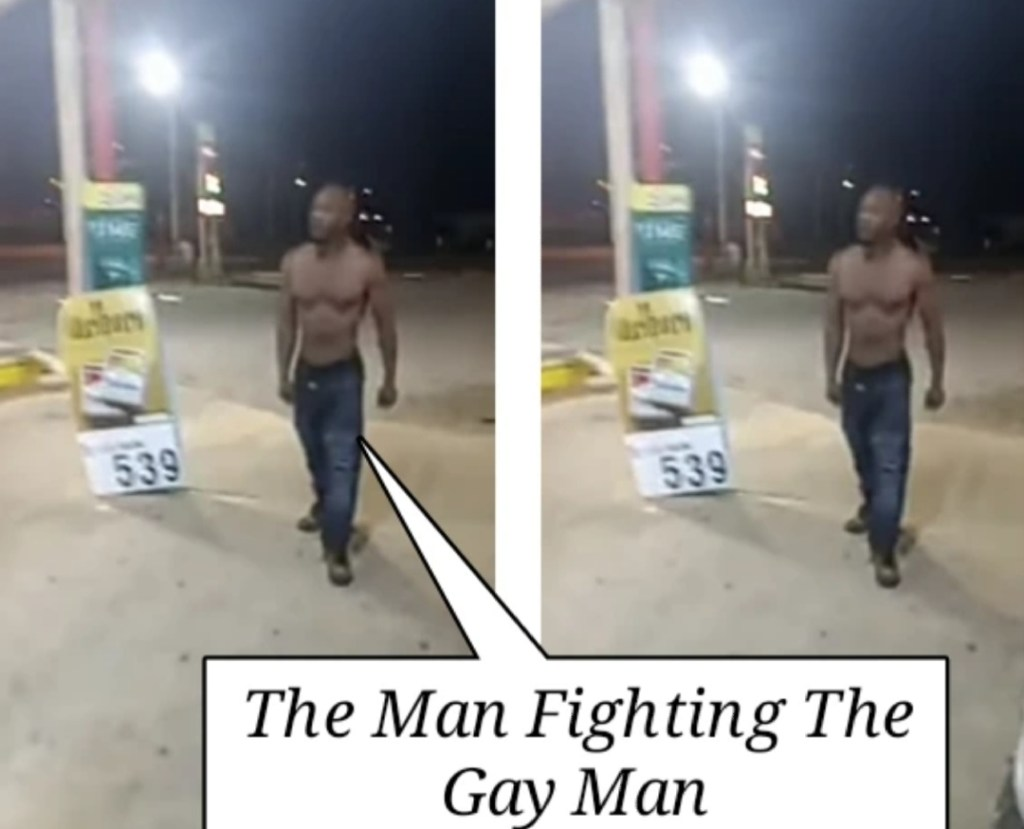 Watch How Gay Two Men Got Into A Serious Fight At The Supermarket (+Video)