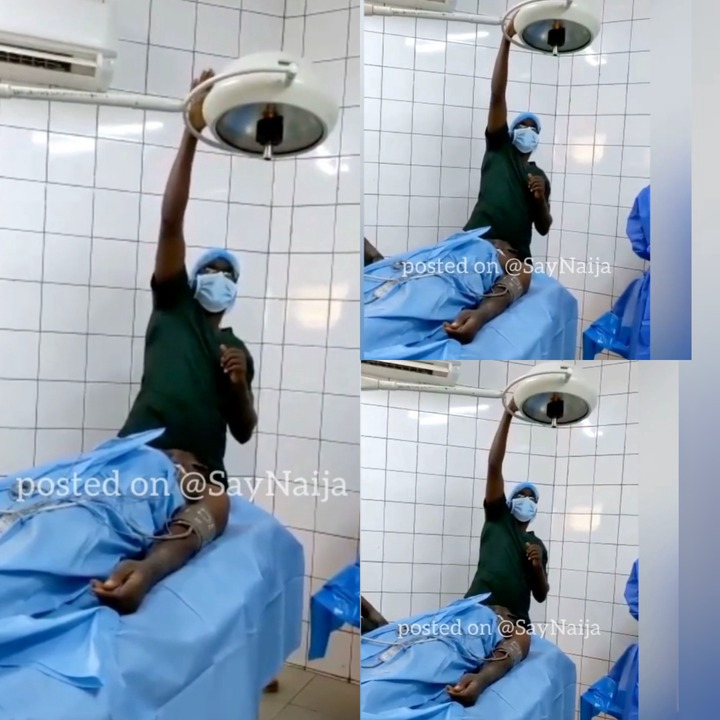 Check Out What A Nurse Was Spotted Doing After Man Was Rushed To Hospital That Got People Talking (+Video)