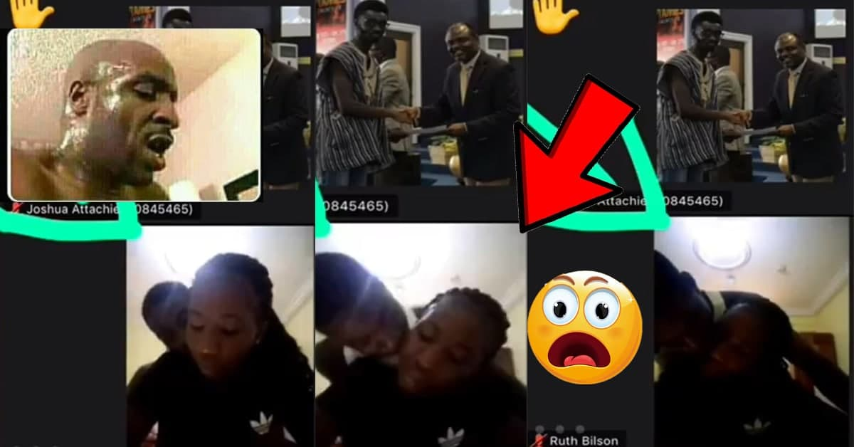 Full Video Of Legon Students Ch0pp!ng Themselves During Online Class On Zoom [WATCH NOW]
