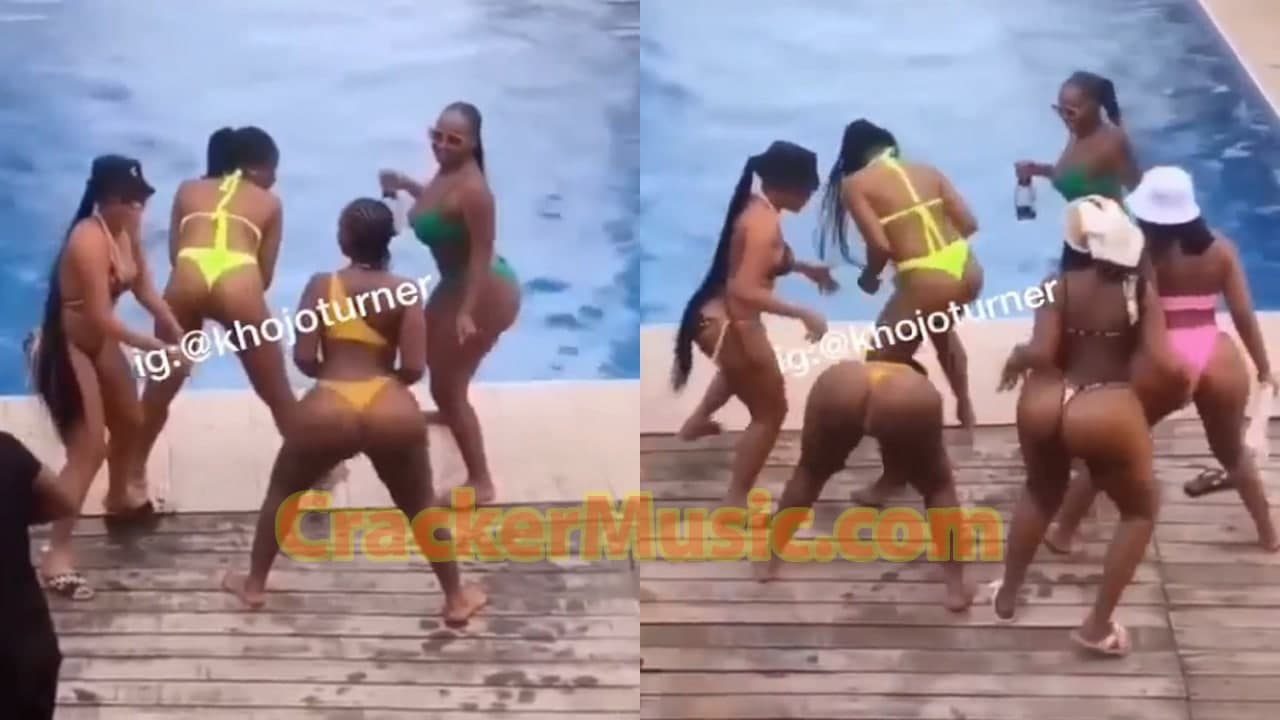 Forget C0r0na; See How This People Are Chilling At A Pool Party [Watch Now]