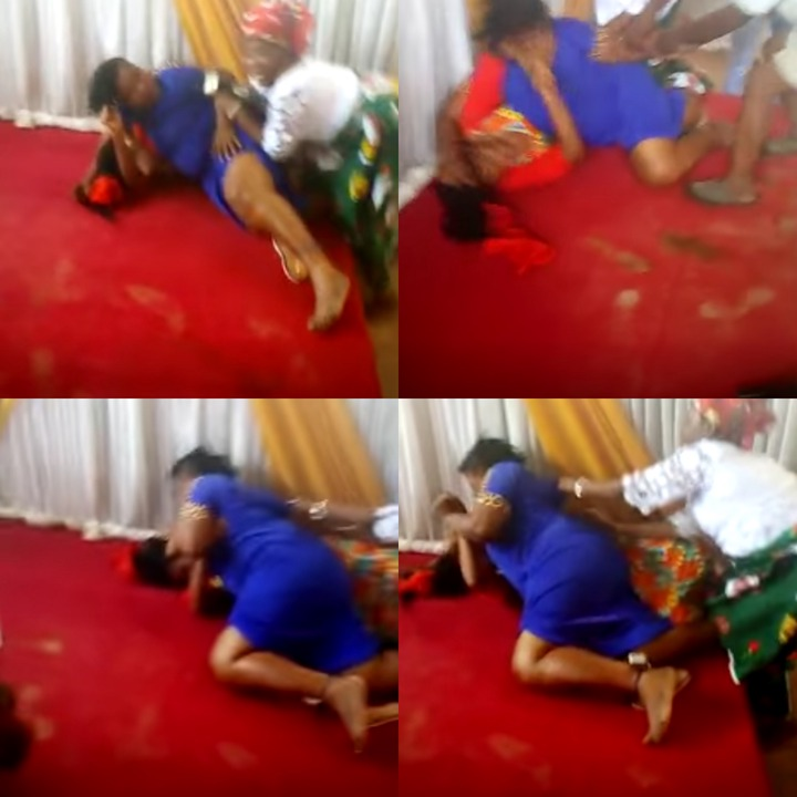 Pastor's Wife Fights Another Woman Inside Church [Watch Video]
