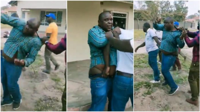 Man beaten after being caught trying to sleep with boss' wife; video drops