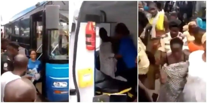 Woman gives birth in a public bus; emotional video goes viral