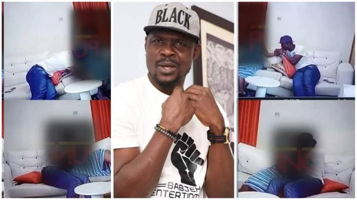 Watch CCTV footage of nollywood actor Baba Ijesha molesting 14-year-old girl (+Video)