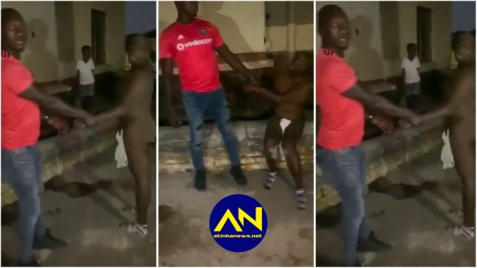 Massive drama ensues as husband catches wife in bed with another man [video]
