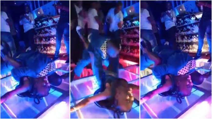 Gospel musician goes rogue, jumps on a lady and does the unthinkable to her on stage [video]