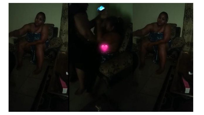Lady B£ats her Best Friend nak£dly after she C@ught her sl££ping with her husband (+Video)