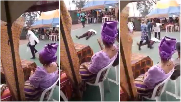 Man slumps and dies while dancing at an event; Sad video drops [watch]