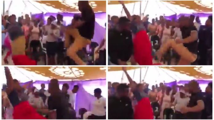 Pastor hits female member in the belly during deliverance service [video]