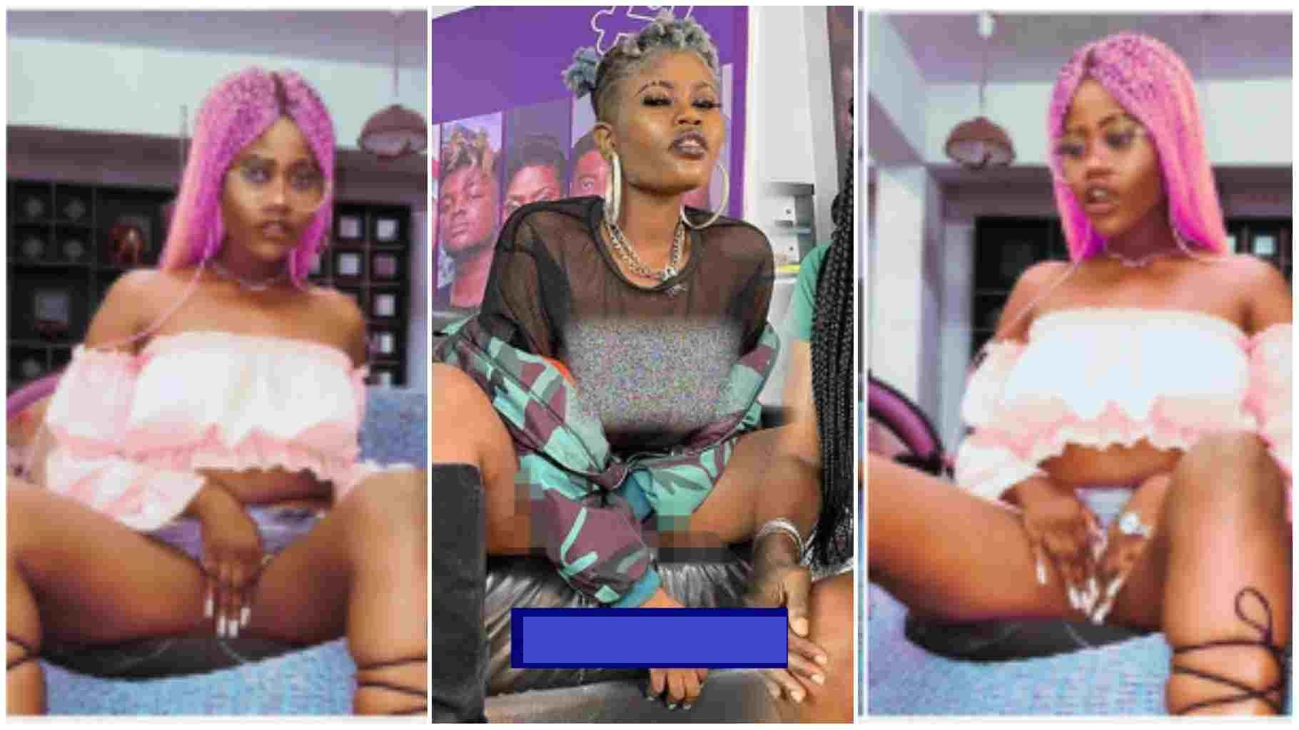 N.vdist Naomi Gold returns, twerks hard to confuse TV Africa camera crew [Watch]