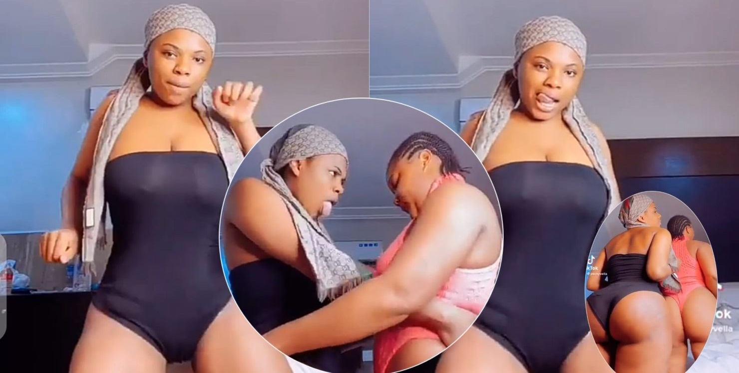 Two Slay Queens Show Raw Bvttocks In Massive Twr3ks [WATCH VIDEO]